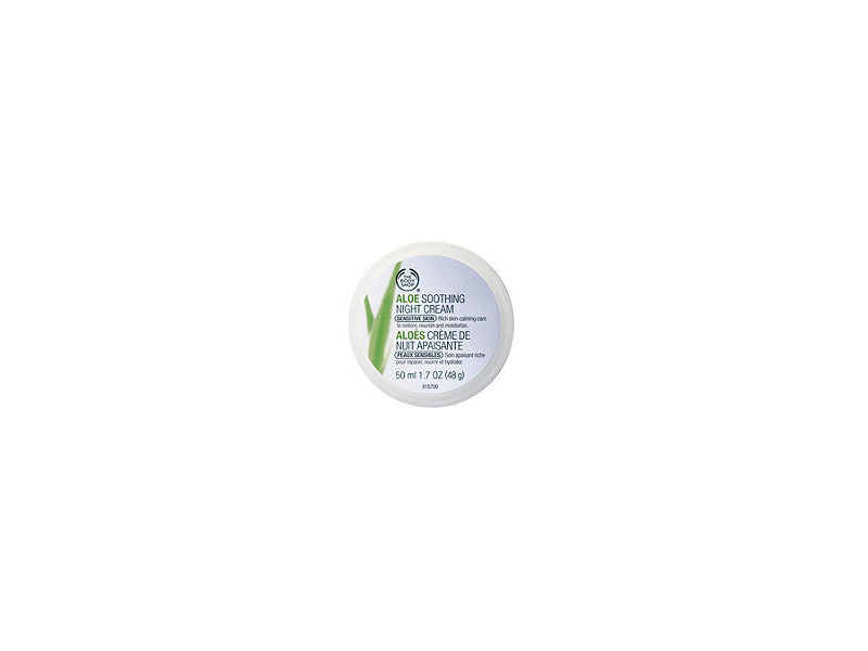 Aloe Soothing Night Cream, The Body Shop