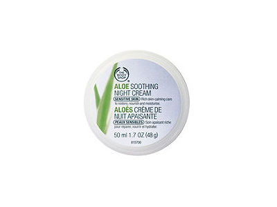 Aloe Soothing Night Cream, The Body Shop - Image 1