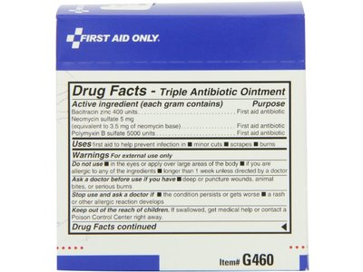 Water Jel Triple Antibiotic Ointment Pack, 0.5 Gram, 25-Count Boxes (Pack of 3) - Image 6