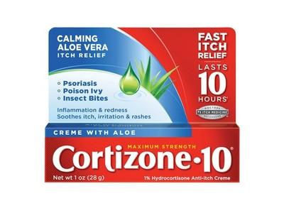 Coritzone-10 Creme with Aloe, 1 oz