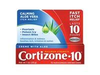 Coritzone-10 Creme with Aloe, 1 oz - Image 2