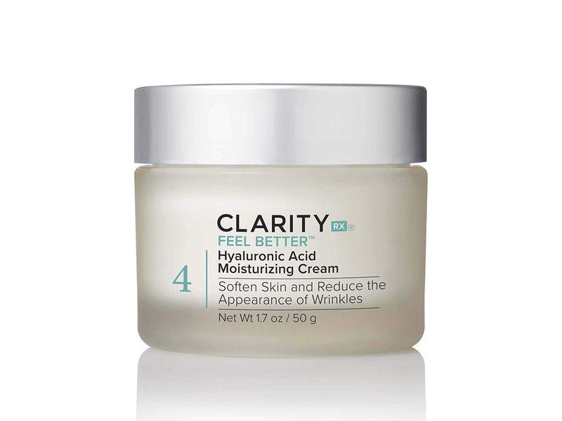 ClarityRx Feel Better Hyaluronic Acid Moisturizing Cream, 1.7 oz/50 g