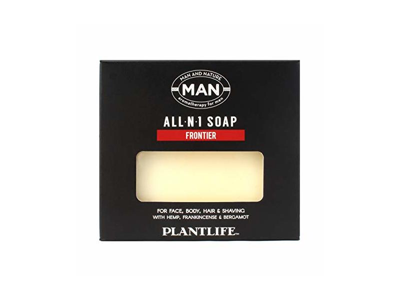 Plantlife Man And Nature All-N-1 Bar Soap, 4 oz