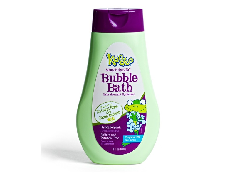 Kandoo Moisturizing Bubble Bath, 16 fl oz
