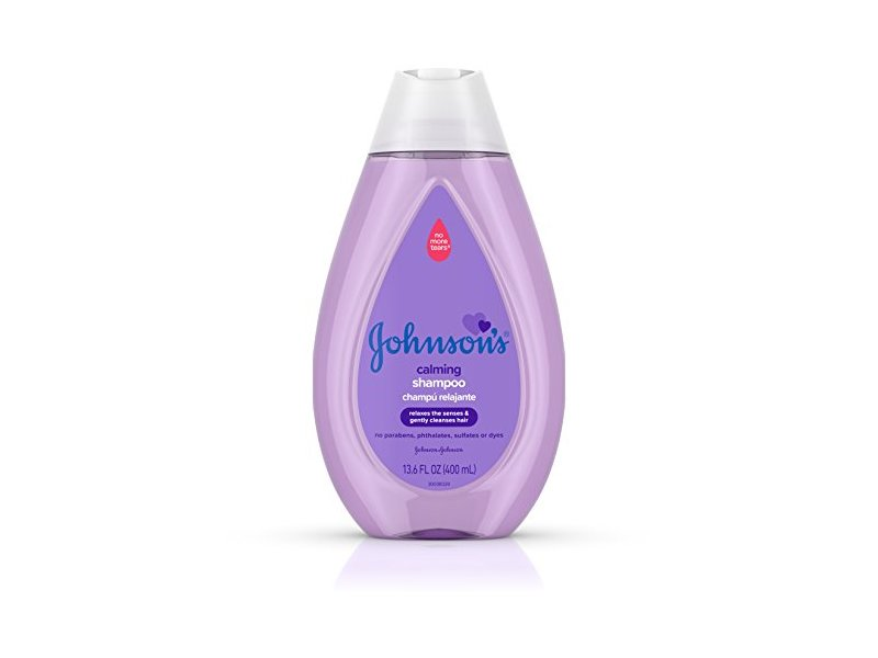 Johnson's Baby Calming Baby Shampoo with Soothing Natural Calm Scent, 13.6 Fluid Ounce