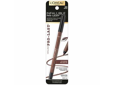 L'Oréal Paris Makeup Infallible Pro-Last Waterproof Pencil Eyeliner - Image 6