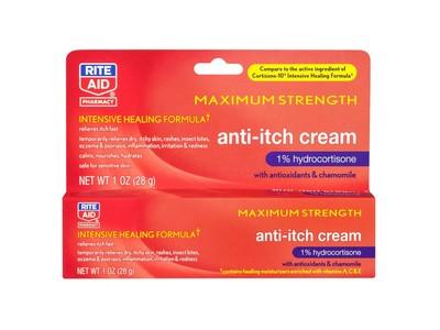 Rite Aid Anti-Itch Cream, 1% Hydrocortisone, Maximum Strength, 1 oz