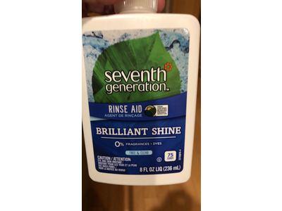 Seventh Generation Dish Rinse Aid, Free & Clear , 8 oz - Image 3