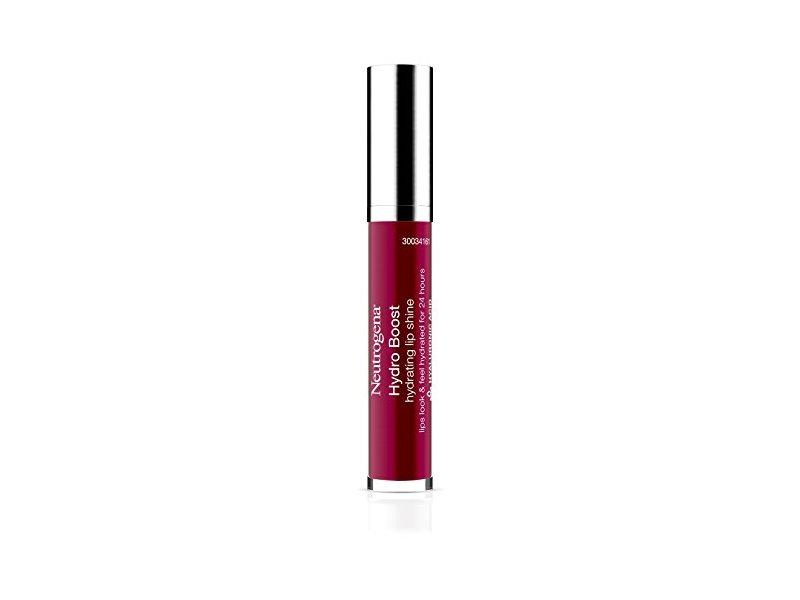 Neutrogena Hydro Boost Hydrating Lip Shine, Deep Cherry 80, 0.10 Ounce