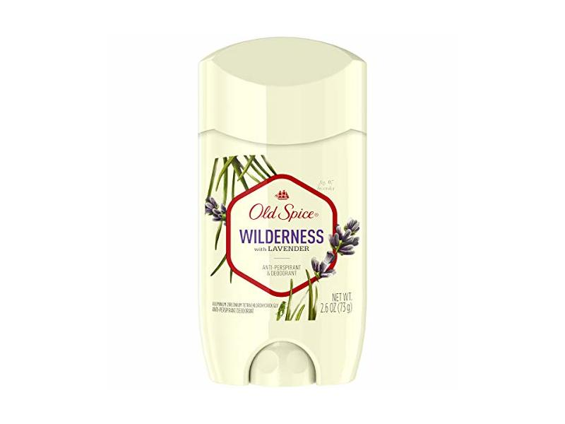 Old Spice Wilderness Anti-Perspirant & Deodorant, Lavender, 2.6 oz