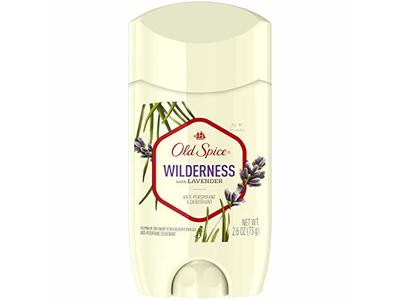 Old Spice Wilderness Anti-Perspirant & Deodorant, Lavender, 2.6 oz