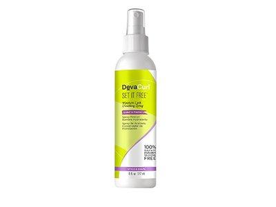 DevaCurl Set It Free Moisture Lock Finishing Spray, 6 fl oz