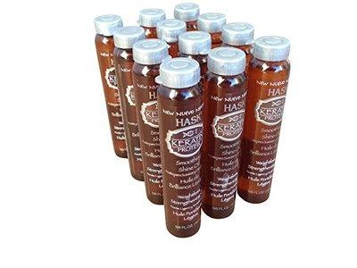 Hask Vials Keratin Protein Smoothing Shine Oil, 8 fl oz