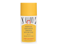 First Aid Beauty Weightless Liquid Mineral Sunscreen with Zinc Oxide, SPF 30, 1.5 fl oz - Image 2