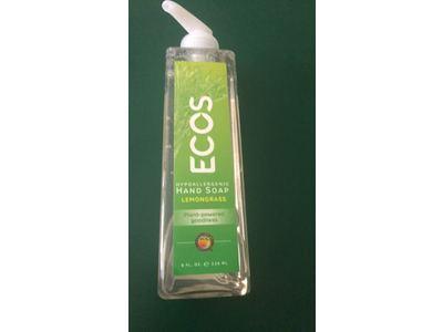Ecos Hand Soap, Lemongrass, 8 fl oz - Image 3