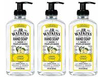 J.R. Watkins Foaming Hand Soap, Lemon, 3-pack - Image 2