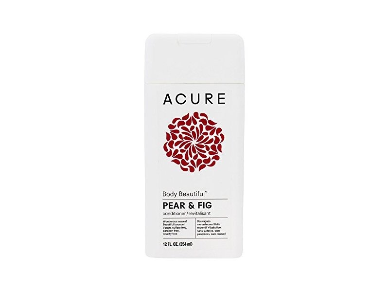 Acure Body Beautiful Conditioner, Pear & Fig, 12 Fluid Ounces