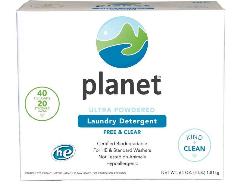 Planet Ultra Powdered Laundry Detergent, 64 oz/4 lb