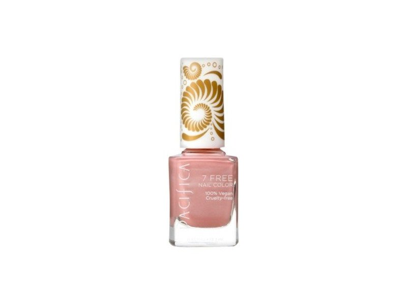 Pacifica 7 Free Nail Color, Pink Crush 0, 45 fl oz