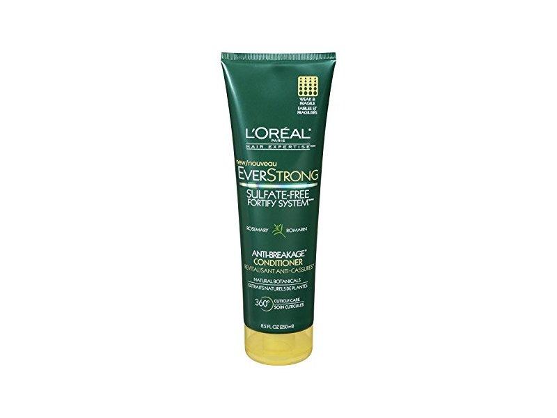 L'Oreal Paris Hair Everstrong Anti-Breakage Conditioner, 8.5 fl oz/250 ml