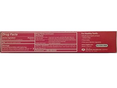 Colgate Anticavity Fluoride Toothpaste, Cinnamint, 4.0 fl oz - Image 5