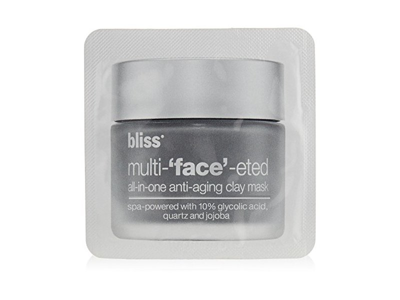 bliss Multi-'Face'-eted All-In-One Anti-Aging Clay Mask, 0.8 oz.