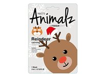 MasqueBar Pretty Animalz Reindeer Sheet Mask Gray, 0.71 fl oz - Image 2