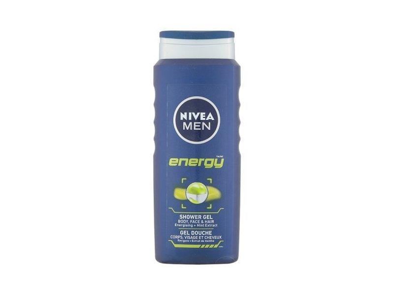 Nivea Men Shower Gel, Energy, 500ml