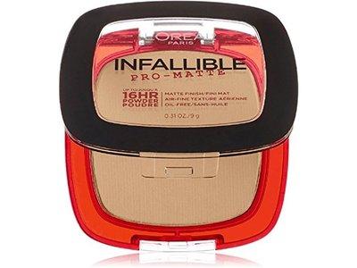 L'Oreal Paris Infallible Pro-Matte Powder, Natural Beige, 0.31 oz (Pack of 2)