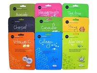 Celavi Essence Facial Mask Paper Sheet Korea Skin Care Moisturizing 12 Pack (Collagen) - Image 7