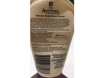 Aveeno Intensive Relief Hand Cream, 100g - Image 4