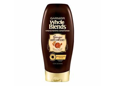 Garnier Whole Blends Strengthening Conditioner, Ginger Recovery, 12.5 fl oz/370 mL