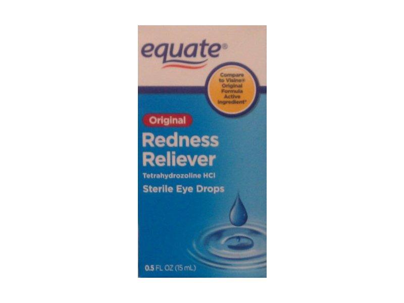 Equate Original Redness Reliever Sterile Eye Drops .5 Fl Oz