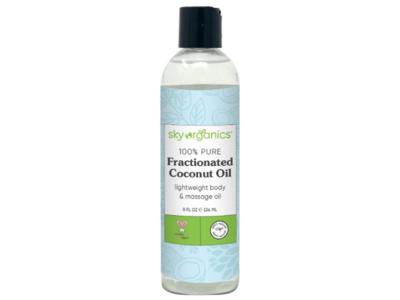 Sky Organics 100% Pure Fractionated Coconut Oil, 8 fl oz/236 mL