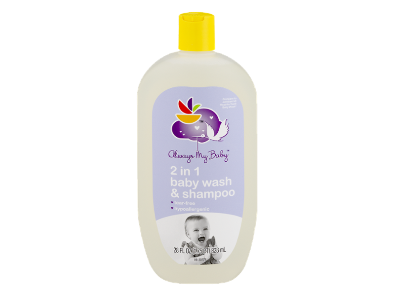 Always My Baby 2-in-1 Baby Wash Shampoo, 28 fl oz