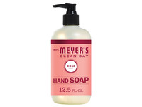 Mrs. Meyer's Clean Day Liquid Hand Soap, Rose Scent, 12.5 Ounce Bottle - Image 2
