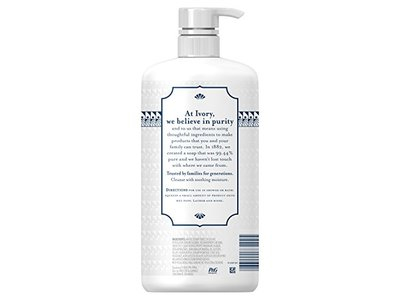 Ivory Free & Gentle Cleanse & Soothe Body Wash, Chamomile, 16.9 fl oz - Image 3