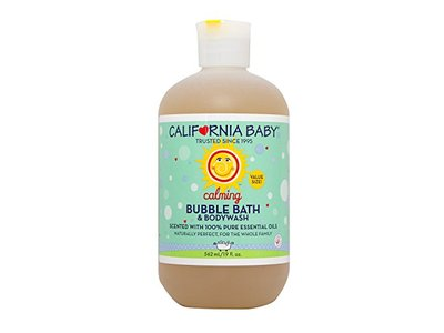 California Baby Calming Bubble Bath, 19 fl oz