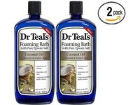 Dr Teal's Foaming Bath with Pure Epsom Salt, Coconut Oil, 34 fl oz - Image 2