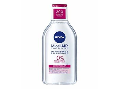 Nivea MicellAIR Water For Dry And Sensitive Skin Make-Up Remover, 400 ml