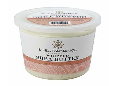 Shea Radiance Women's Gold Whipped Shea Butter with Apricot Oil, 9.5 oz