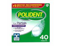 Polident Antibacterial Denture Cleanser For Partials, 40 ea (Pack of 5) - Image 2