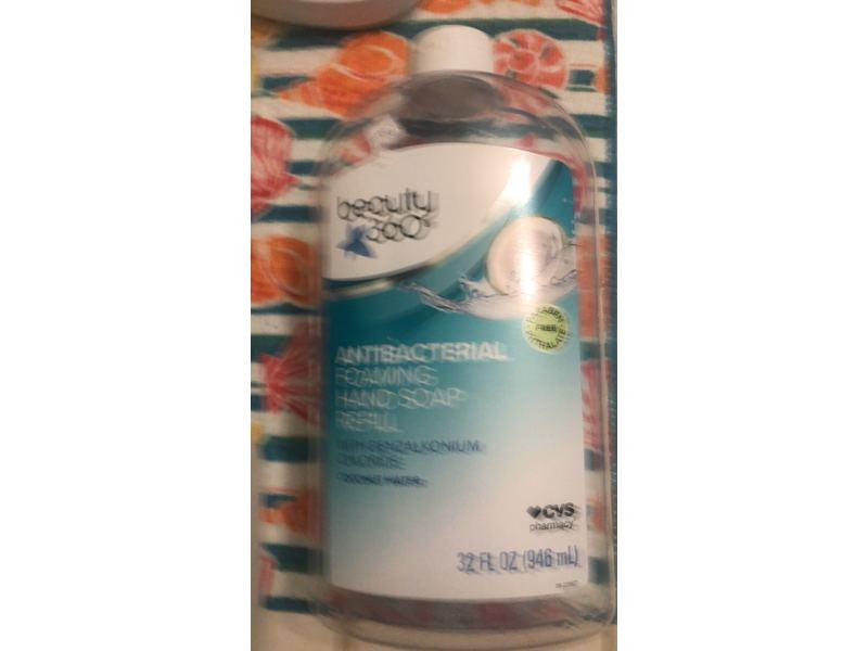 Beauty 360 Antibacterial Foaming Hand Soap Refill, 32 fl oz