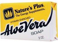 Nature's Plus Aloe Vera Soap - 3 oz - Image 2