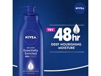 NIVEA Essentially Enriched Body Lotion - 48 Hour Moisture For Dry to Very Dry Skin - 16.9 Fl. Oz. Bottles - Image 6