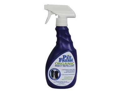 Homs PetFresh Organic Insect Repellent for Dogs, 16.9 fl oz - Image 1