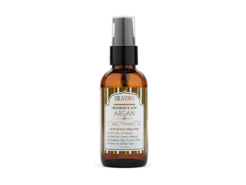 Shea Terra Organics Moroccan Argan Cold Pressed Extra Virgin Oil 2 oz
