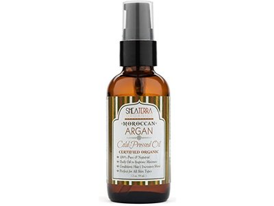 Shea Terra Organics Moroccan Argan Cold Pressed Extra Virgin Oil 2 oz