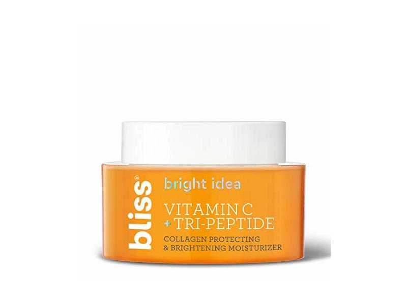 Bliss Bright Idea Vitamin C & Tri-Peptide Collagen Protecting & Brightening Moisturizer, 1.7 fl oz