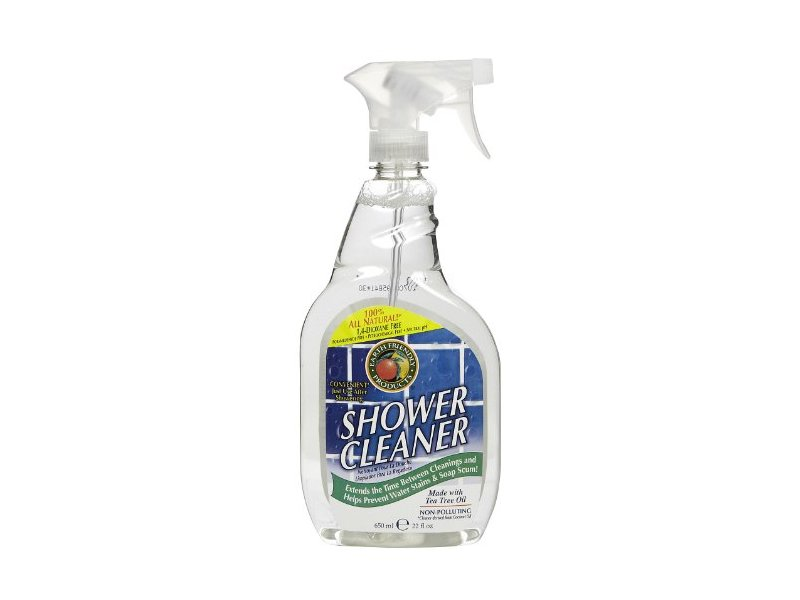 Earth friendly products shower cleaner spray 22 oz for Method bathroom cleaner ingredients